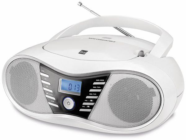 CD-Player DUAL P 60 BT, weiß