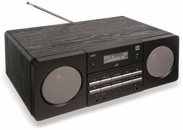 Stereoanlage DUAL DAB 410, schwarz - Produktbild 2