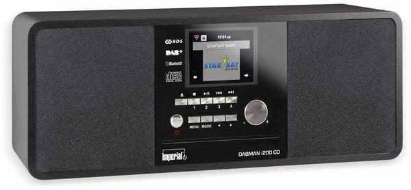 Internetradio IMPERIAL i200 CD, schwarz - Produktbild 1