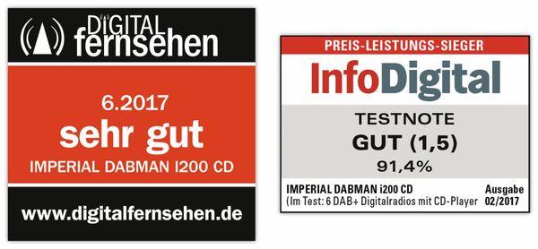 Internetradio IMPERIAL i200 CD, schwarz - Produktbild 5