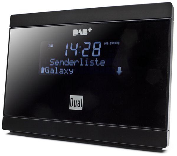 Digitalradioadapter DUAL DAB 2A, schwarz