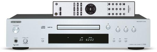CD-Player ONKYO C-7030, silber - Produktbild 1
