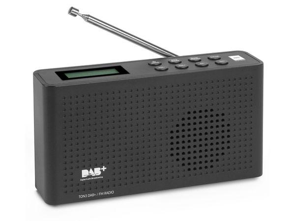 DAB+ Radio OPTICUM Ton3, schwarz