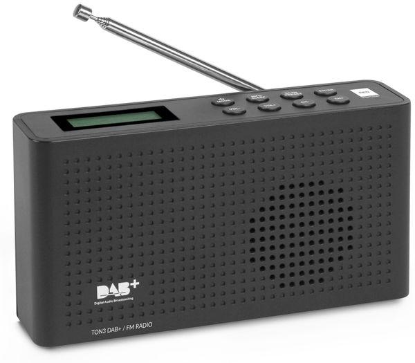 DAB+ Radio RED OPTICUM Ton3, schwarz