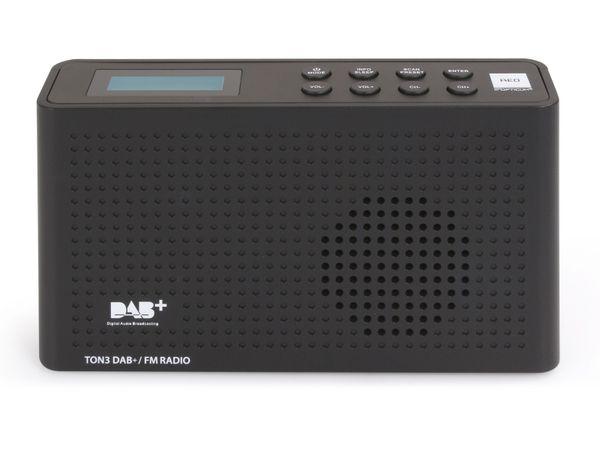 DAB+ Radio OPTICUM Ton3, schwarz - Produktbild 2