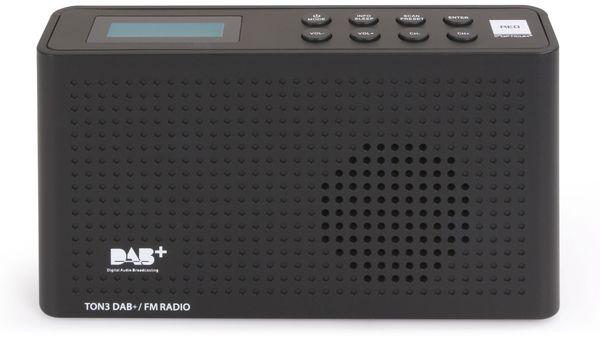 DAB+ Radio RED OPTICUM Ton3, schwarz - Produktbild 2
