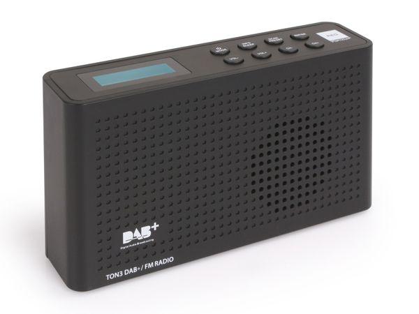 DAB+ Radio OPTICUM Ton3, schwarz - Produktbild 3