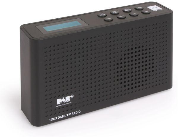 DAB+ Radio RED OPTICUM Ton3, schwarz - Produktbild 3