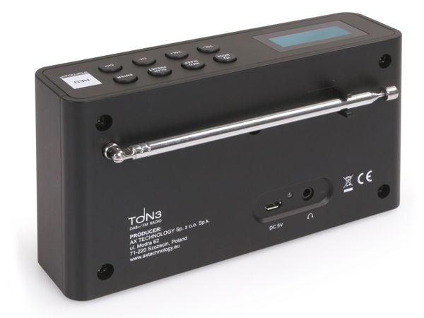 DAB+ Radio OPTICUM Ton3, schwarz - Produktbild 4