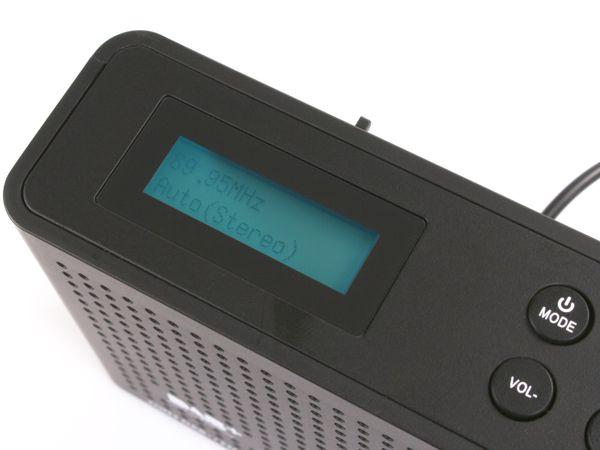 DAB+ Radio OPTICUM Ton3, schwarz - Produktbild 5