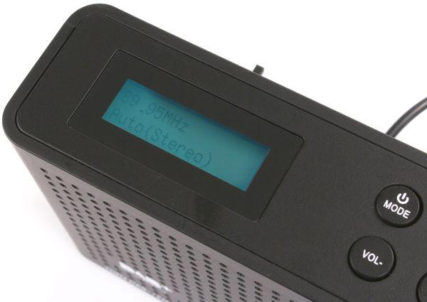 DAB+ Radio RED OPTICUM Ton3, schwarz - Produktbild 5