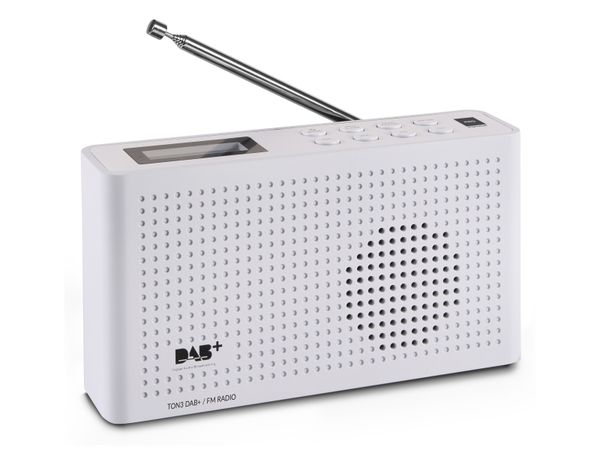 DAB+ Radio OPTICUM Ton3, weiß