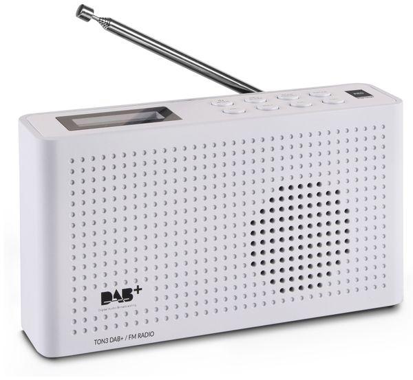 DAB+ Radio RED OPTICUM Ton3, weiß