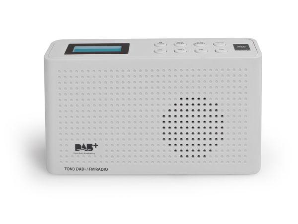 DAB+ Radio OPTICUM Ton3, weiß - Produktbild 2