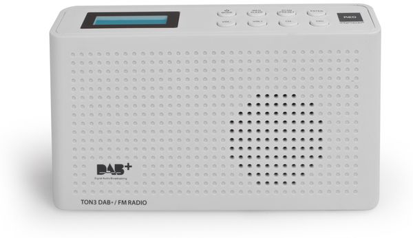 DAB+ Radio RED OPTICUM Ton3, weiß - Produktbild 2