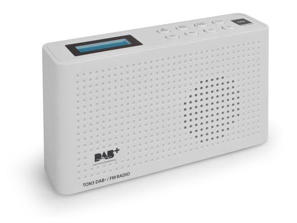 DAB+ Radio OPTICUM Ton3, weiß - Produktbild 3