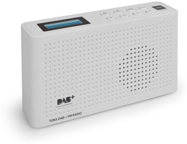 DAB+ Radio RED OPTICUM Ton3, weiß - Produktbild 3