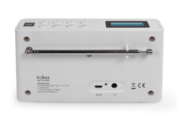 DAB+ Radio OPTICUM Ton3, weiß - Produktbild 4