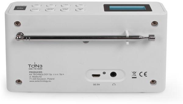 DAB+ Radio RED OPTICUM Ton3, weiß - Produktbild 4