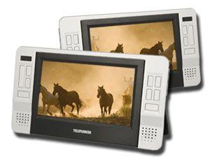 Portabler DVD-Player TELEFUNKEN Twin 7