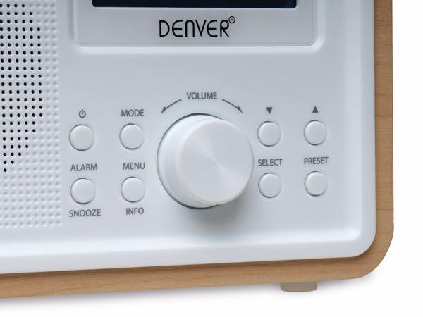 DAB+/FM Digitalradio DENVER DAB-35, weiß - Produktbild 3