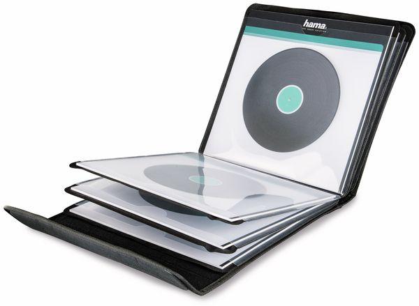 LP-Tasche HAMA 181440, 12 Fächer, schwarz