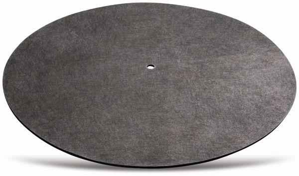 Schallplattenmatte HAMA 181450, schwarz - Produktbild 1