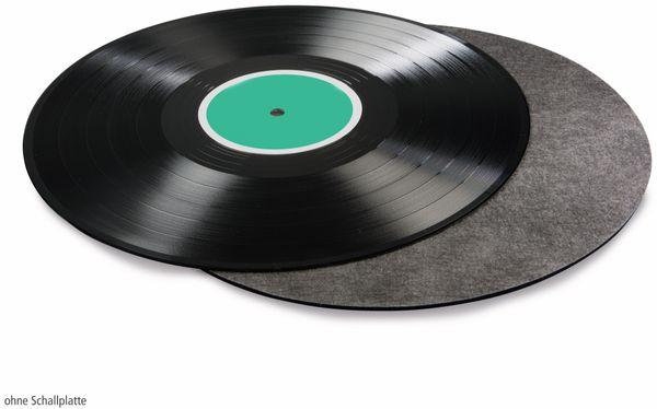 Schallplattenmatte HAMA 181450, schwarz - Produktbild 2