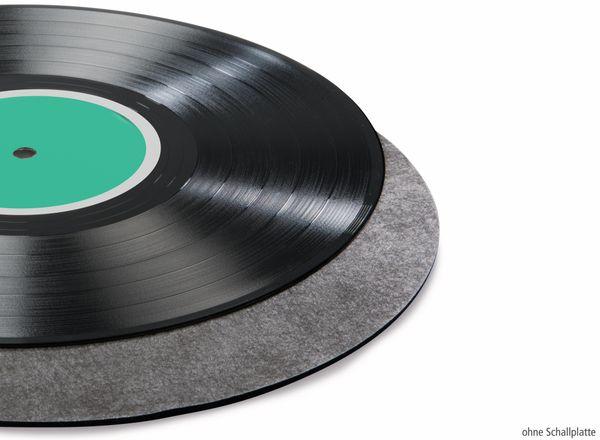 Schallplattenmatte HAMA 181450, schwarz - Produktbild 3