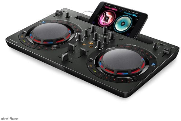 DJ Controller PIONEER DJ DDJ-WeGO4-K, schwarz - Produktbild 7
