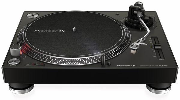 Schallplattenspieler PIONEER DJ PLX-500-K, schwarz - Produktbild 1