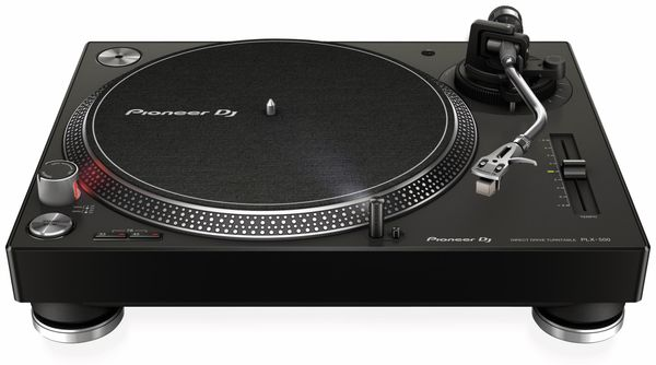 Schallplattenspieler PIONEER DJ PLX-500-K, schwarz