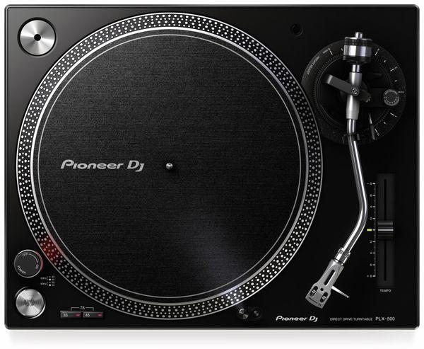 Schallplattenspieler PIONEER DJ PLX-500-K, schwarz - Produktbild 3