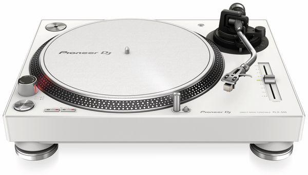 Schallplattenspieler PIONEER DJ PLX-500-W, weiß