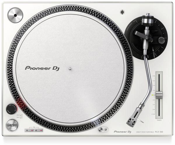 Schallplattenspieler PIONEER DJ PLX-500-W, weiß - Produktbild 3