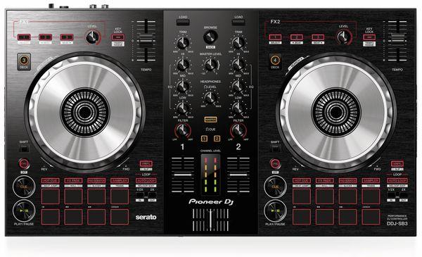 DJ Controller PIONEER DJ DDJ-SB3, schwarz - Produktbild 3