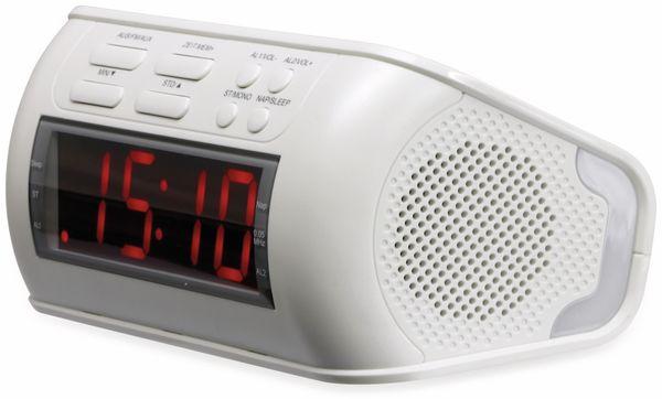Uhrenradio, RW234, weiß, B-Ware - Produktbild 1