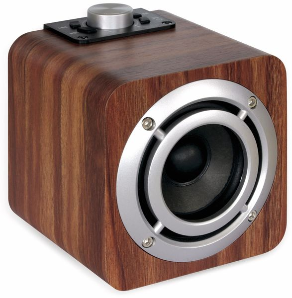 FM Radio DYNAVOX Cube i3, FM, Bluetooth, MicroSD - Produktbild 2