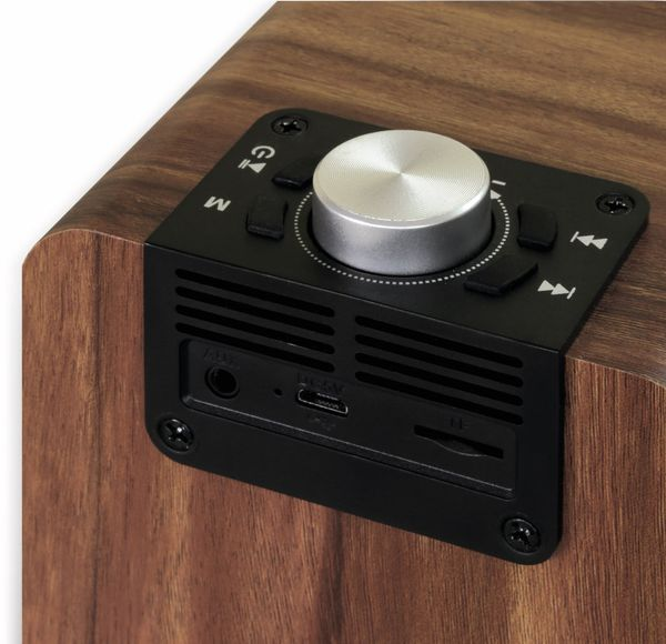 FM Radio DYNAVOX Cube i3, FM, Bluetooth, MicroSD - Produktbild 5