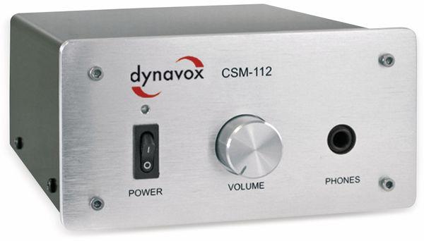 Kopfhörerverstärker DYNAVOX CSM-112, silber - Produktbild 1