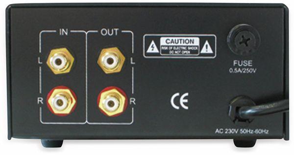 Kopfhörerverstärker DYNAVOX CSM-112, silber - Produktbild 2