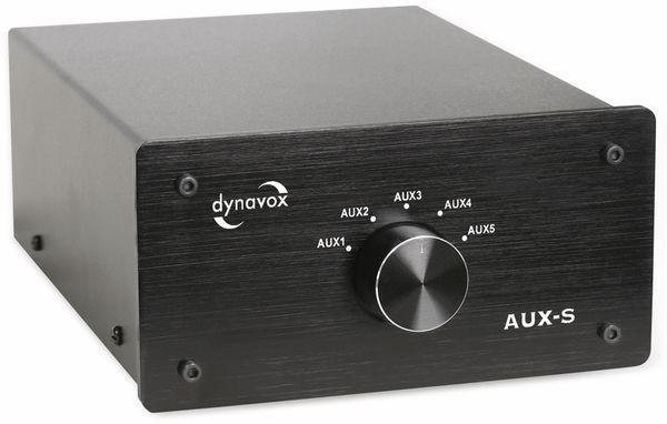 Eingangs-Erweiterung/Umschalter DYNAVOX AUX-S, schwarz - Produktbild 2