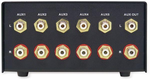 Eingangs-Erweiterung/Umschalter DYNAVOX AUX-S, schwarz - Produktbild 3