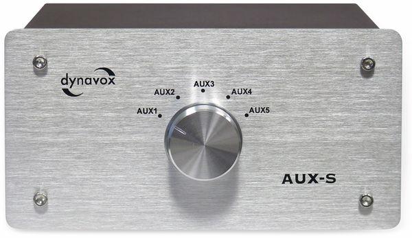 Eingangs-Erweiterung/Umschalter DYNAVOX AUX-S, silber - Produktbild 2