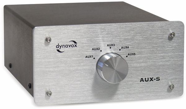 Eingangs-Erweiterung/Umschalter DYNAVOX AUX-S, silber - Produktbild 3