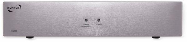 HiFi-Netzfilter DYNAVOX X6000S, silber - Produktbild 1