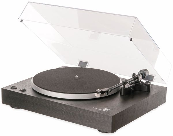 Plattenspieler DUAL DT 450 USB, schwarz