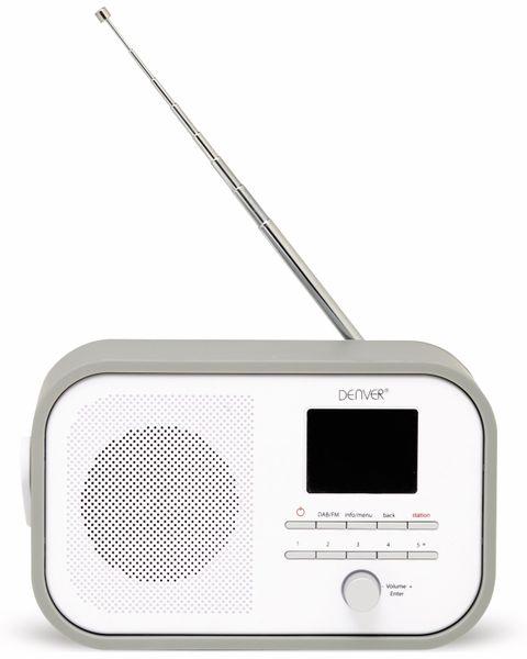 DAB+/FM Digitalradio DENVER DAB-40, grau - Produktbild 2