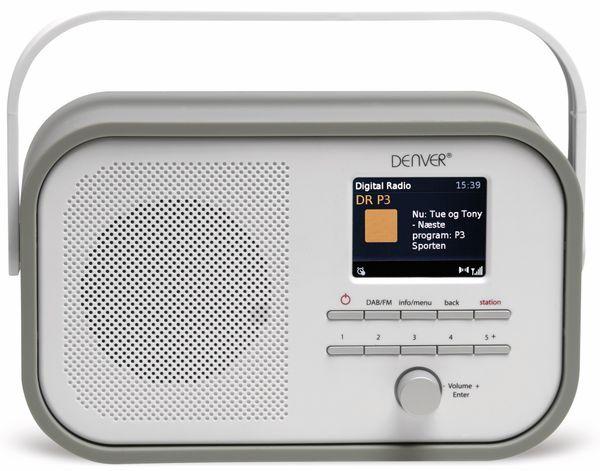 DAB+/FM Digitalradio DENVER DAB-40, grau - Produktbild 3