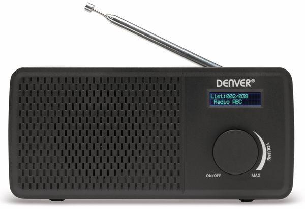 DAB+/UKW Radio DENVER DAB-41, schwarz - Produktbild 1